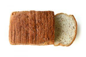 traindevie licht bruin vezelrijk brood