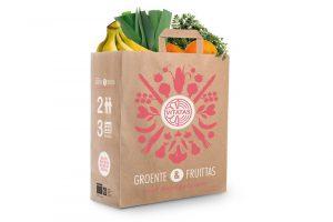groente en fruittas groot