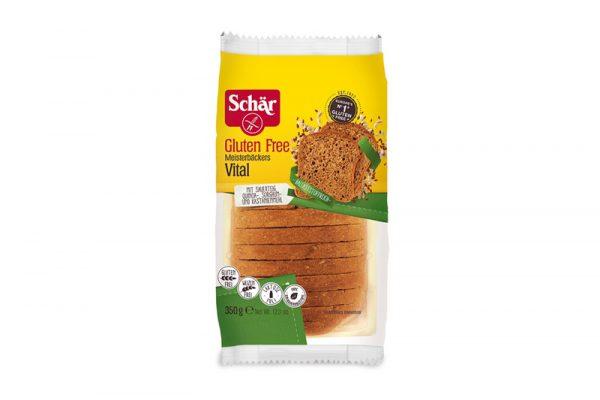 Schär glutenvrije donkerbruin meergranenbrood