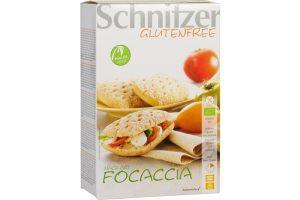 Schnitzer glutenvrije focaccia broodjes