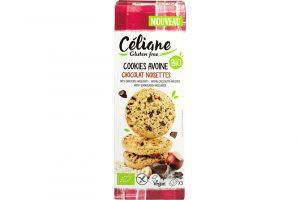 Celiane glutenvrije haver hazelnoot chocoladekoekjes