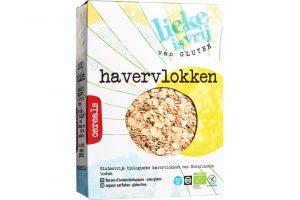 Lieke is vrij glutenvrije havervlokken