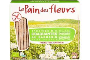 le Pain des Fleurs glutenvrije krokante crackers boekweit