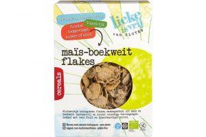 Lieke is vrij glutenvrije mais-boekweit flakes