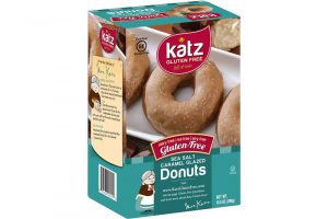 katz gluten free sea salt caramel donuts